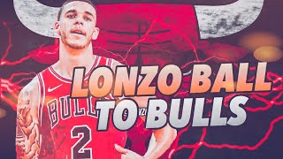 HUGE 3 Team Trade! Lonzo Ball Chicago Bulls Rebuild! NBA 2K19