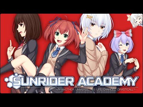 Ночной Макрон и спонтанный Sunrider Academy :D