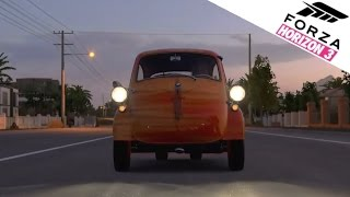 Forza Horizon 3 | BMW Isetta 300 w/ TURBO Powered Motorbike Engine! [Xbox One]