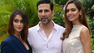 Interview with Akshay Kumar, Ileana D'Cruz and Esha Gupta | Rustom | SpotboyE