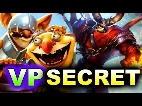 SECRET vs VP - TECHIES! - MEGAFON WINTER CLASH DOTA 2