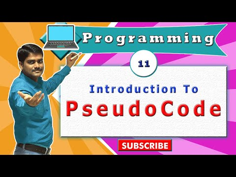 C programming tutorial 12 - C - Introduction to Pseudo codes