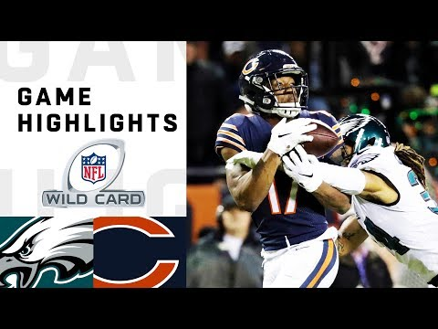 Eagles vs. Bears Wild Card Round Highlights | NFL 2018 Playoffs