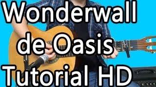 Como Tocar Wonderwall de Oasis - Tutorial HD - FermiGuitarra