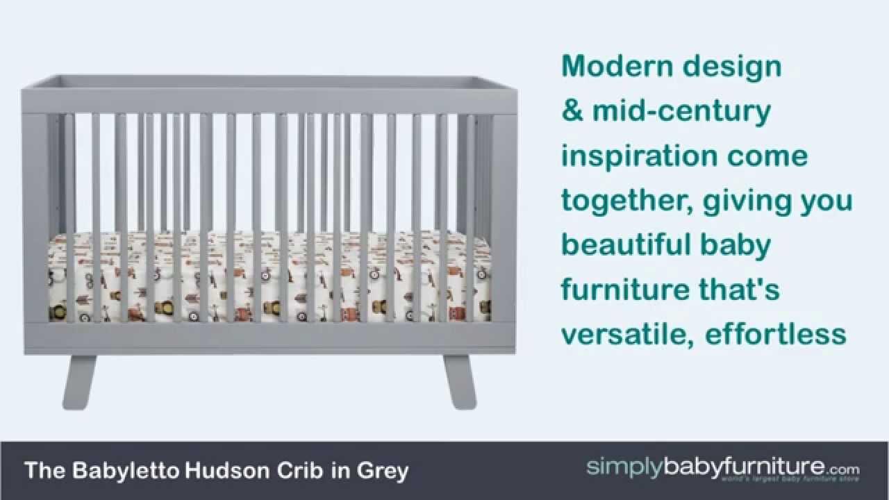 hudson crib by babyletto video