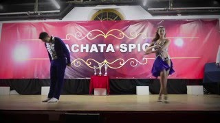 Juan Soto and Julia Ruiz Bachata Spice Uk Championship 2015