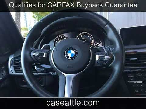 2015 BMW X5 XDrive50i M Sport Executive Cold Weather XDrive50i Used Cars - Seattle,Washington - 2017