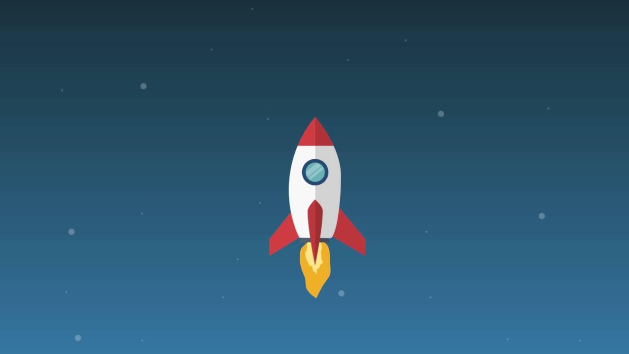 future rocket gif - 1280×720