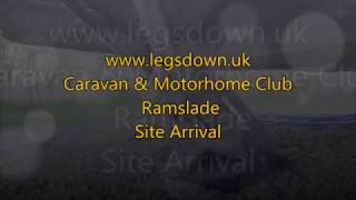 Devon - Ramslade CAMC Site Arrival