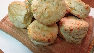 Cheddar And Garlic Biscuits - Recipe
