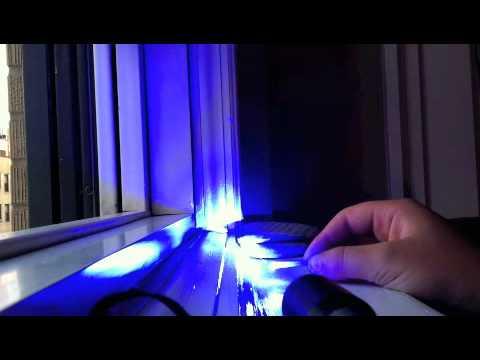 Will's blue laser burning