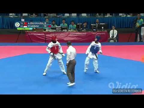 Taekwondo Indonesia Vs Timor Leste Asian Games 2018