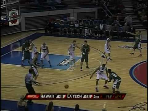 Jan. 29 - Hawaii v. Louisiana Tech -  Last 6 Minutes