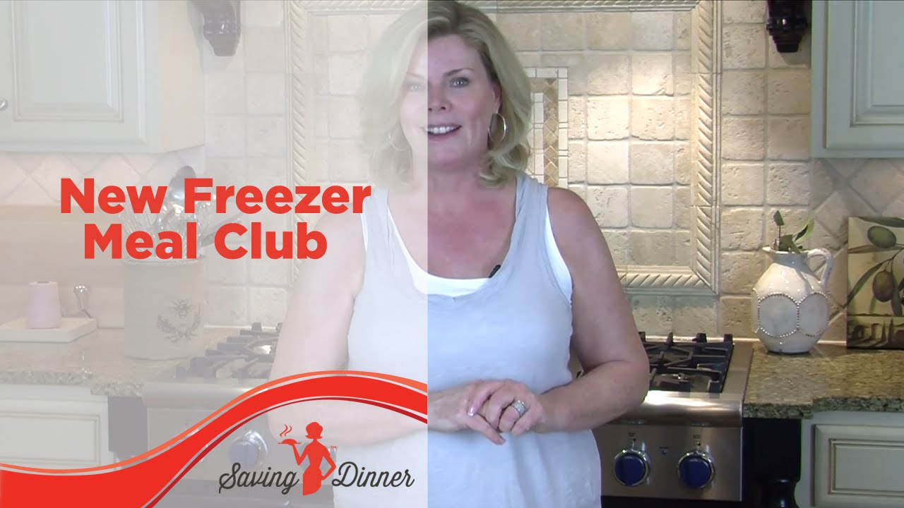 New Freezer Meal Club from Saving Dinner and Leanne Ely ...
