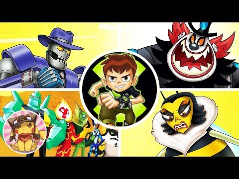 All Boss Fights - Ben 10 Reboot 2017 [1080p] No commentary