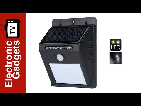 Solar outdoor led garden light polycrystalline solar panel pir solar outdoor led garden light polycrystalline solar panel pir motion sensor mozeypictures Image collections