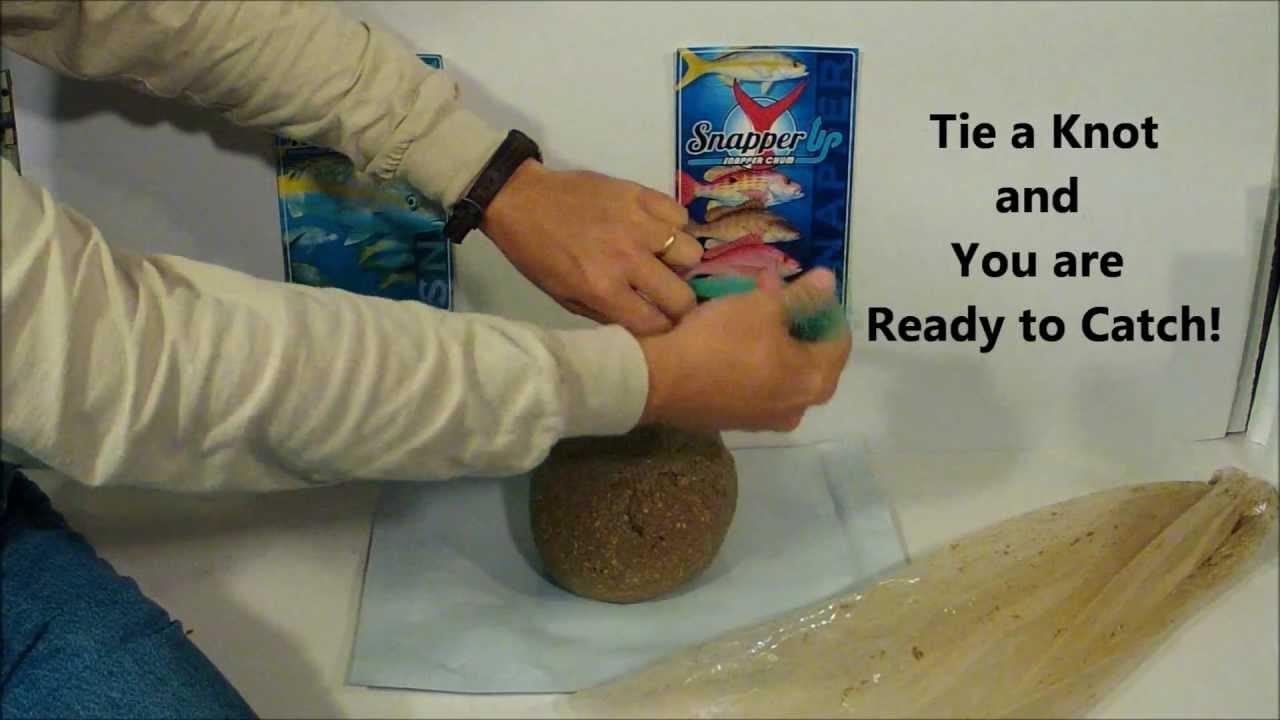 how to make a chum bag