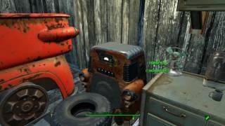 Fallout 4 До и после:Лодочный домик Таффингтона