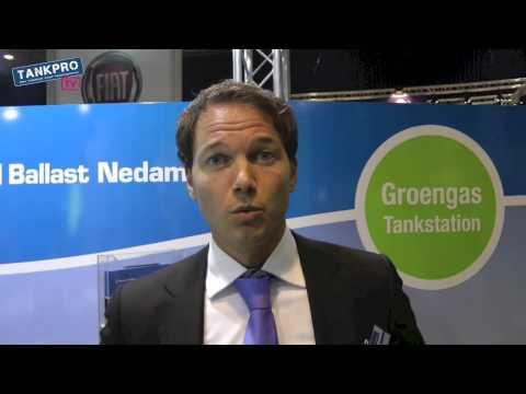Mobiel groengas vulstation van Ballast Nedam IPM Ecomobiel (TankProTV)