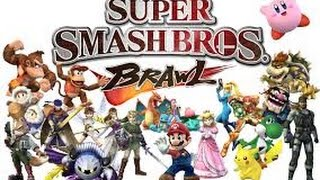 Gameplay Super Smash Bros Brawl Wii