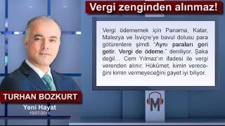 Turhan Bozkurt - Vergi zenginden alınmaz!