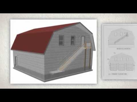 The best 40x40x126 Gambrel Barn Apartment Plans YouTube – Gambrel Garage Apartment Plans