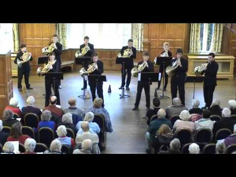 Royal Academy of  Horn Ensemble at Charlton House