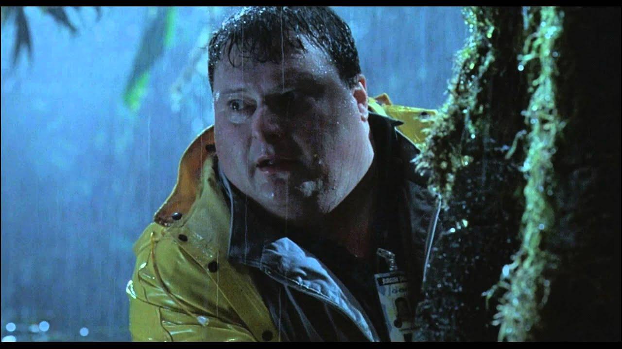 Jurassic Park 1 - Adieu Dennis (Scène Culte) - YouTube