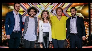 X Factor4 Armenia 4 Chair Challenge/Over 22's 15 01 2017