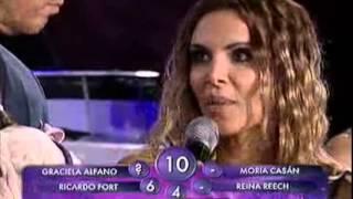 Showmatch 2010 - Fort y Pachano vs. Amalia Granata