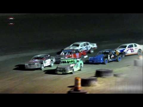 Desert Thunder Raceway IMCA Stock Car Heat Races 9/29/18
