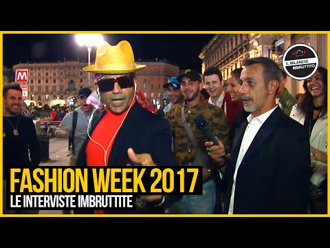 Le Interviste Imbruttite - Fashion Week 2017