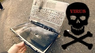 How To: Delete a Virus from Laptop (Complete Destruction) [NOT A REAL TUT]