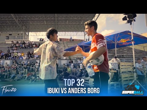 Anders Borg v Ibuki | Super Ball 2016 - Top 32