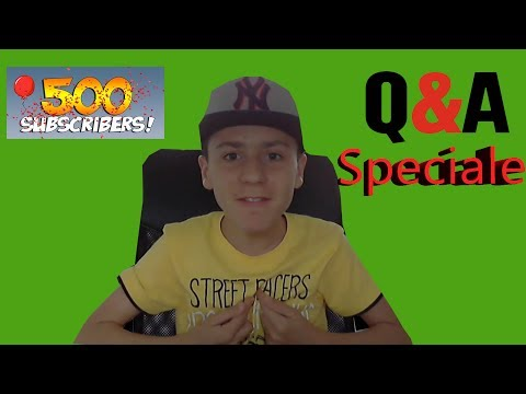 500 Subscribers Special! Q&A - Pyetje dhe pergjigje #2