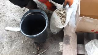 Валковая дробилка 400х250 дробление известняка(, 2016-04-20T18:04:40.000Z)