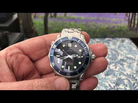 Omega Seamaster Professional 300m Bond 007 Dive Watch review