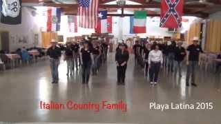Video Too many feet - Line Dance | Italian Country Family | Playa Latina 2015 download MP3, 3GP, MP4, WEBM, AVI, FLV Juli 2018
