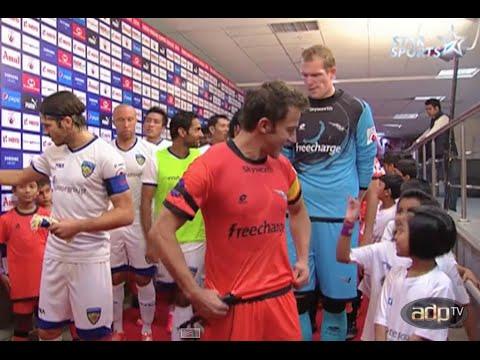 ADPtv   Delhi Dynamos FC - Chennaiyin FC   ISL 2014