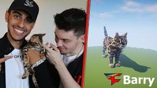 FaZe Barry in Minecraft | FaZe Adapt's Cat