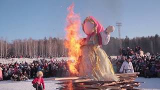 Широкая Масленица Миасс Машгородок 2019  год