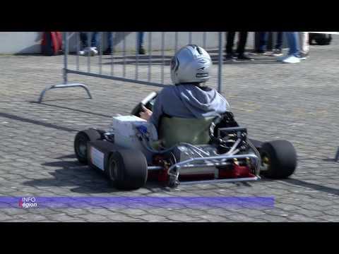 Un projet de kart électrique innovant remporte le Prix Electrosuisse à la Heigvd