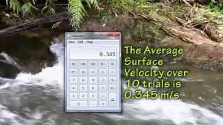 How to Measure Stream Velocity
