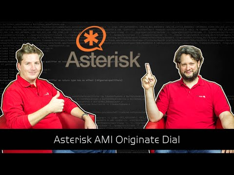 Asterisk Tutorial 58 - Asterisk AMI Originate Dial [english]