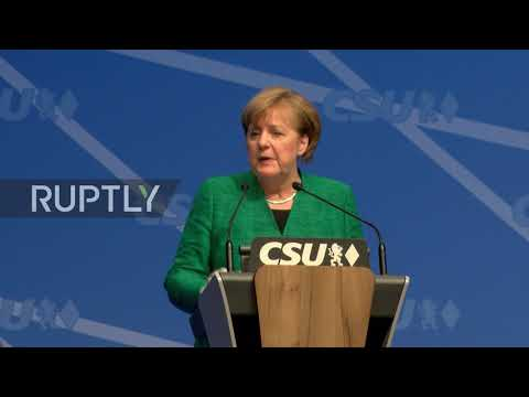 Germany: Merkel welcomes SPD decision for coalition talks during CSU convention