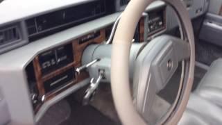 "Video Tour - 1989 Cadillac Sedan Deville - Gold Key Edition"""