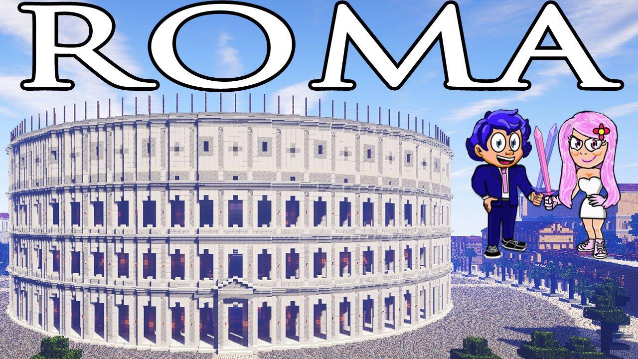 Roma en minecraft mapas super picos para descargar youtube for Blancana y mirote minecraft