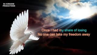 """Karaoke HD """"Una Paloma Blanca"""" with backing vocals (George Baker Selection)"""