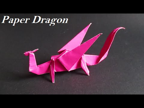 Origami Dragon How To Make Origami Dragon Easy Step By Step Youtube