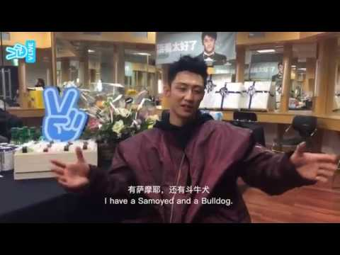 Huang Jingyu Pre Seoul FM Interview [Edited Version] w/Eng&Chin Subtitles